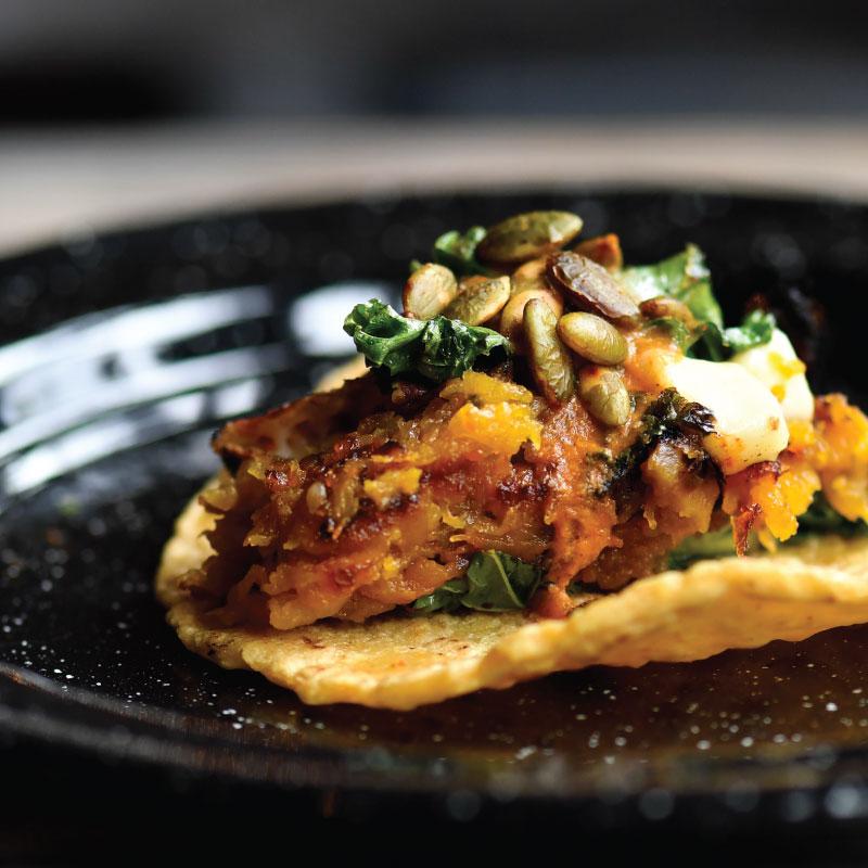 Charred Butternut Squash Taco