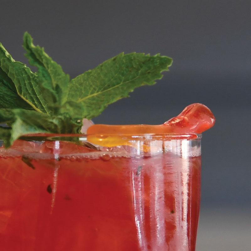 Rojo Gusano Mezcal Cocktail